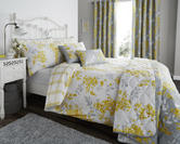 Sophia Duvet Set with Pillowcase(s) Lemon