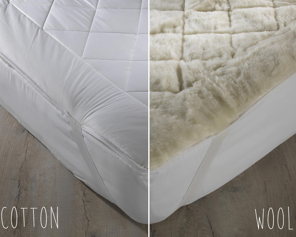 Australian Wool Reversible Mattress Topper