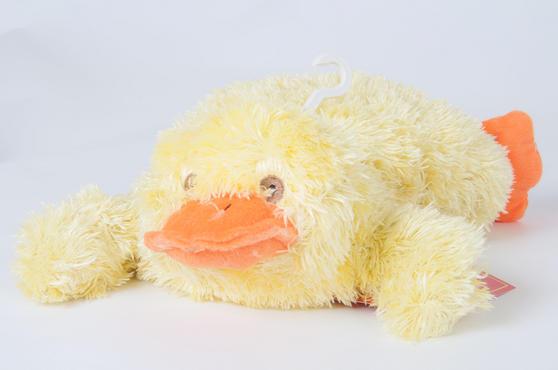 Children Plush Microwaveable comforter/Toy with Lavender Animal Duck Design Thumbnail 1