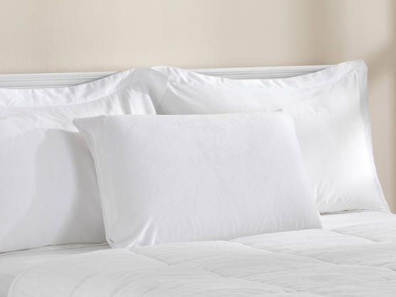 100% Memory Foam Pillow with Removable Cotton Zipped Cover
