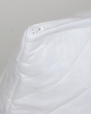 Quilted Polycotton Pillow Protectors Pair Thumbnail 2