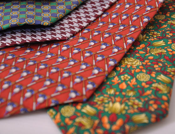 7 Piece Silk Tie Sets Thumbnail 3