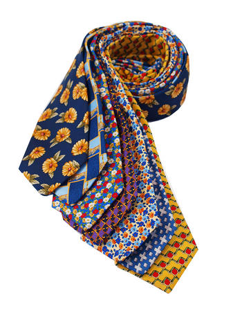 Cavenagh of London 7Piece 100% Pure Silk Ties Made in UK (208D)RRP£139.99 Thumbnail 1