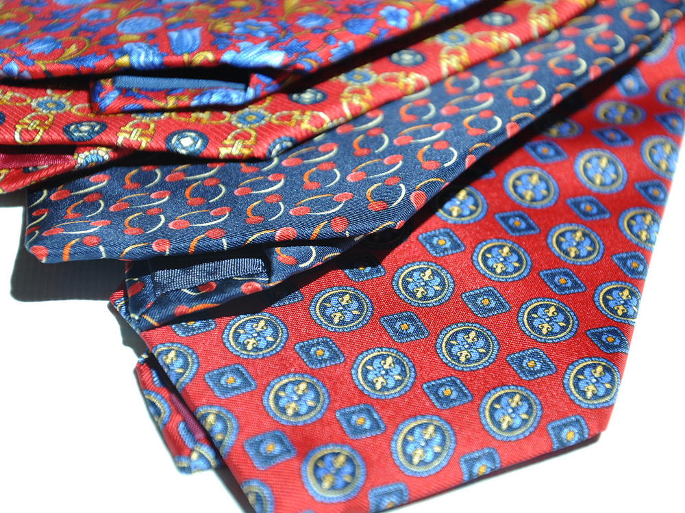 Cavenagh of London 7Piece 100% Pure Silk Ties Made in UK (430D)RRP£139.99 Thumbnail 2