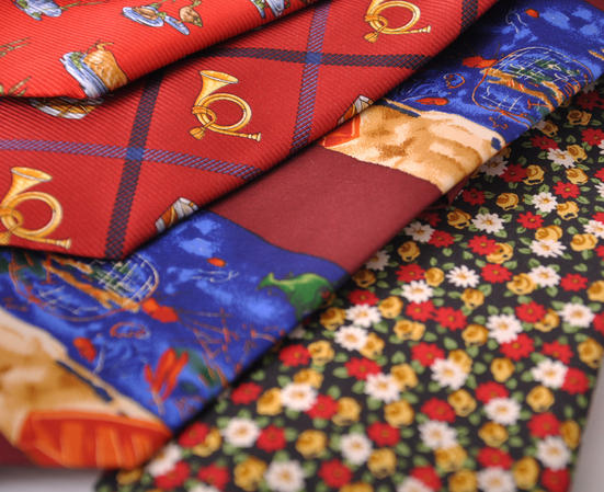 Cavenagh of London 7Piece 100% Pure Silk Ties Made in UK (323D)RRP£139.99 Thumbnail 3
