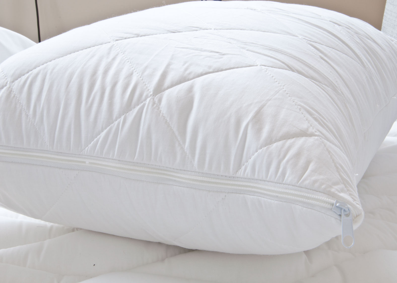 egyptian cotton pillow protector pair | egyptian cotton | bedding Cotton Pillow