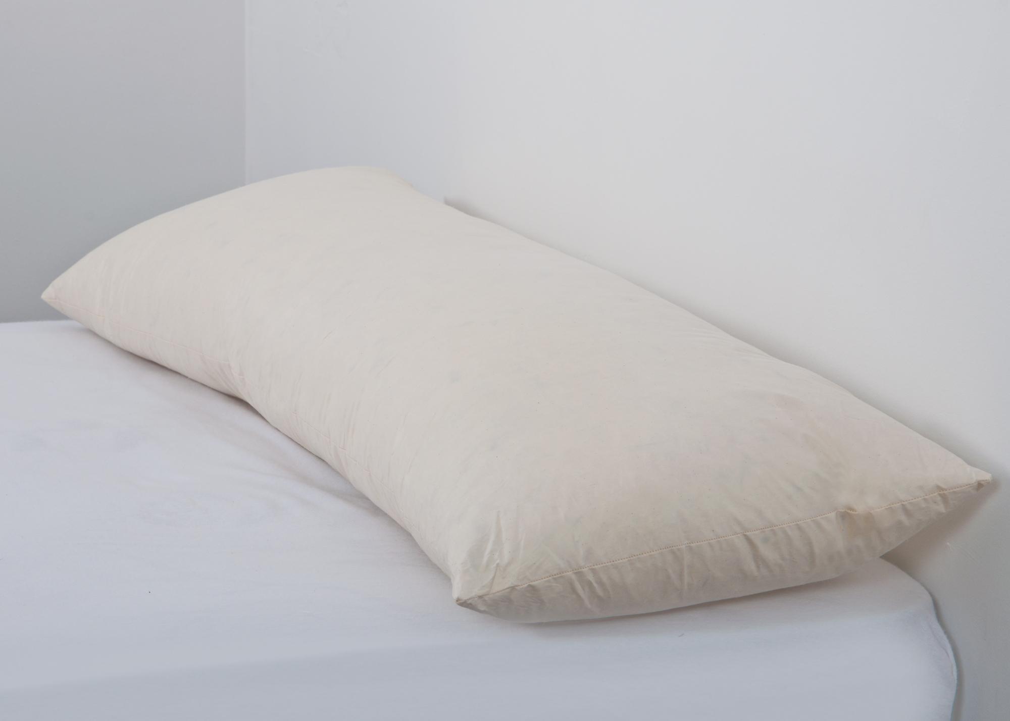 Duck Feather Bolster Pillow