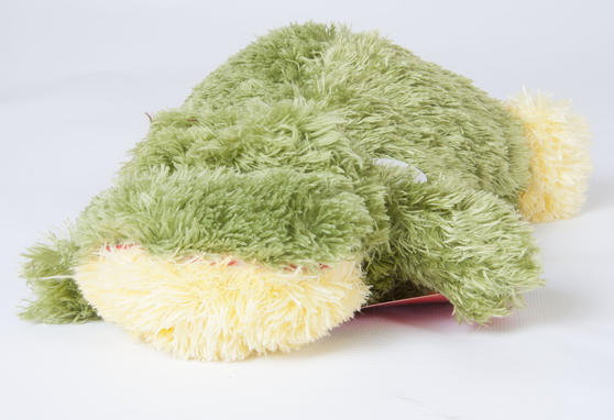 Children Plush Microwaveable comforter/Toy with Lavender Animal Crocodile Design Thumbnail 1