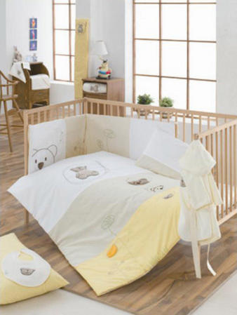 My Little Bear Collection - 100% Cotton Cot Bed 4.5 Tog Duvet