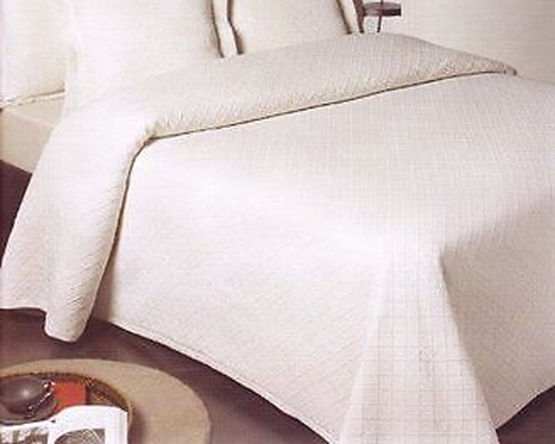 Ariana Cotton Rich Bedspread in White