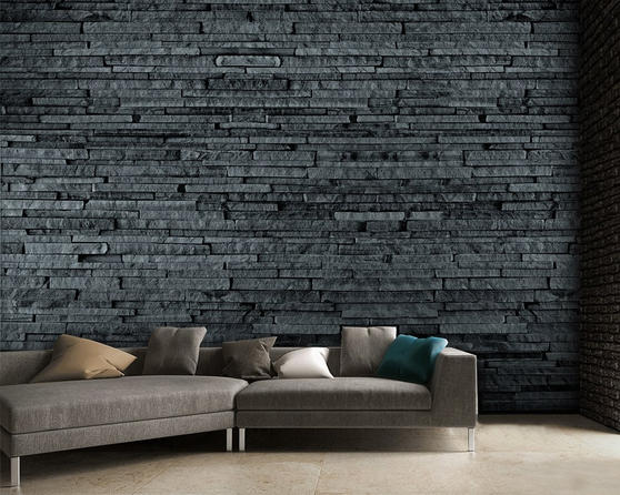 Easy Hang Giant Wallpaper Mural Slate A001 Design Thumbnail 1