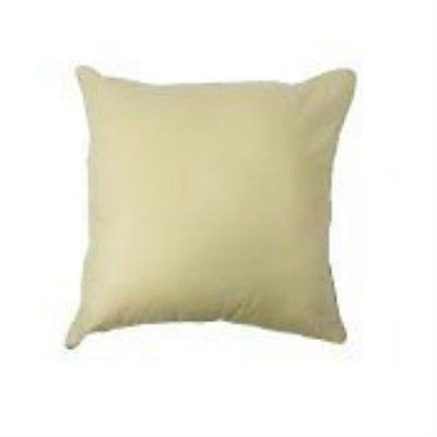 "Luxury Cotton Piped Cushion Pad 26"" x 26"""