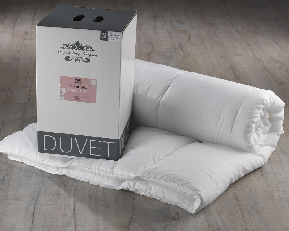 Luxurious Cotton Duvet - 10.5 Tog