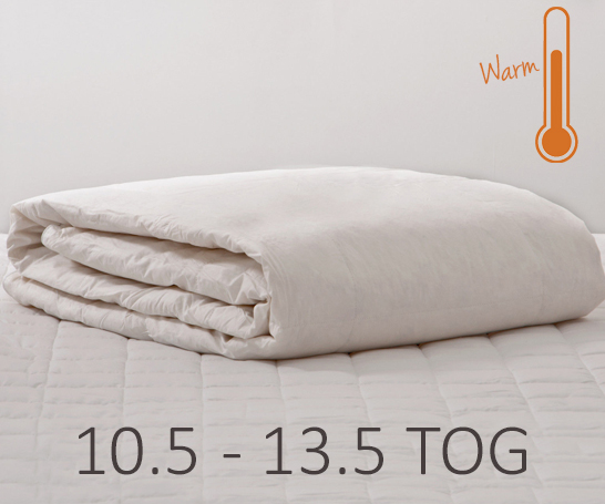 Autumn and Winter Duvets 10.5 to 13.5 Tog
