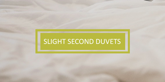 Slight Seconds Duvets