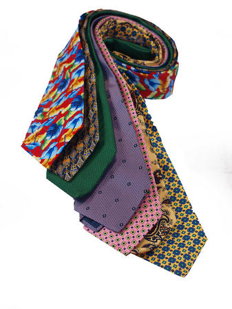 Cavenagh of London 7Piece 100% Pure Silk Ties Made in UK (206D)RRP£139.99 Thumbnail 1