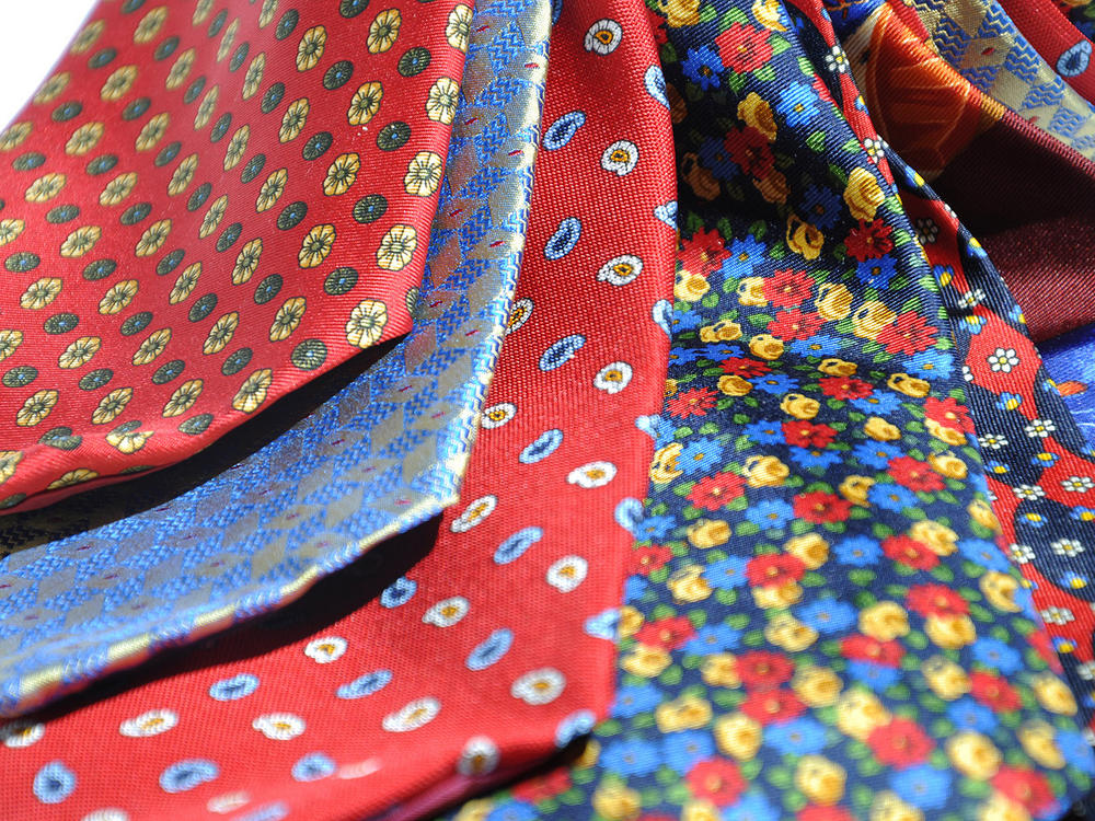 Cavenagh of London 7Piece 100% Pure Silk Ties Made in UK (527D)RRP£139.99 Thumbnail 2