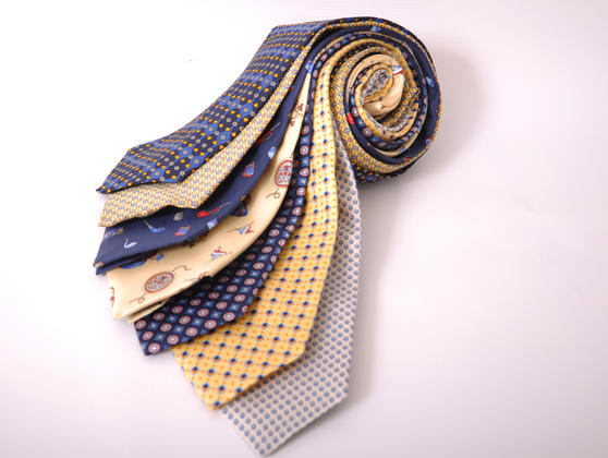 Cavenagh of London 7Piece 100% Pure Silk Ties Made in UK (507D)RRP£139.99 Thumbnail 1