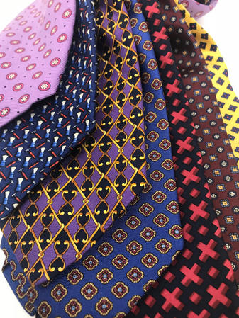 Cavenagh of London 7Piece 100% Pure Silk Ties Made in England (620D)RRP£139.99 Thumbnail 2