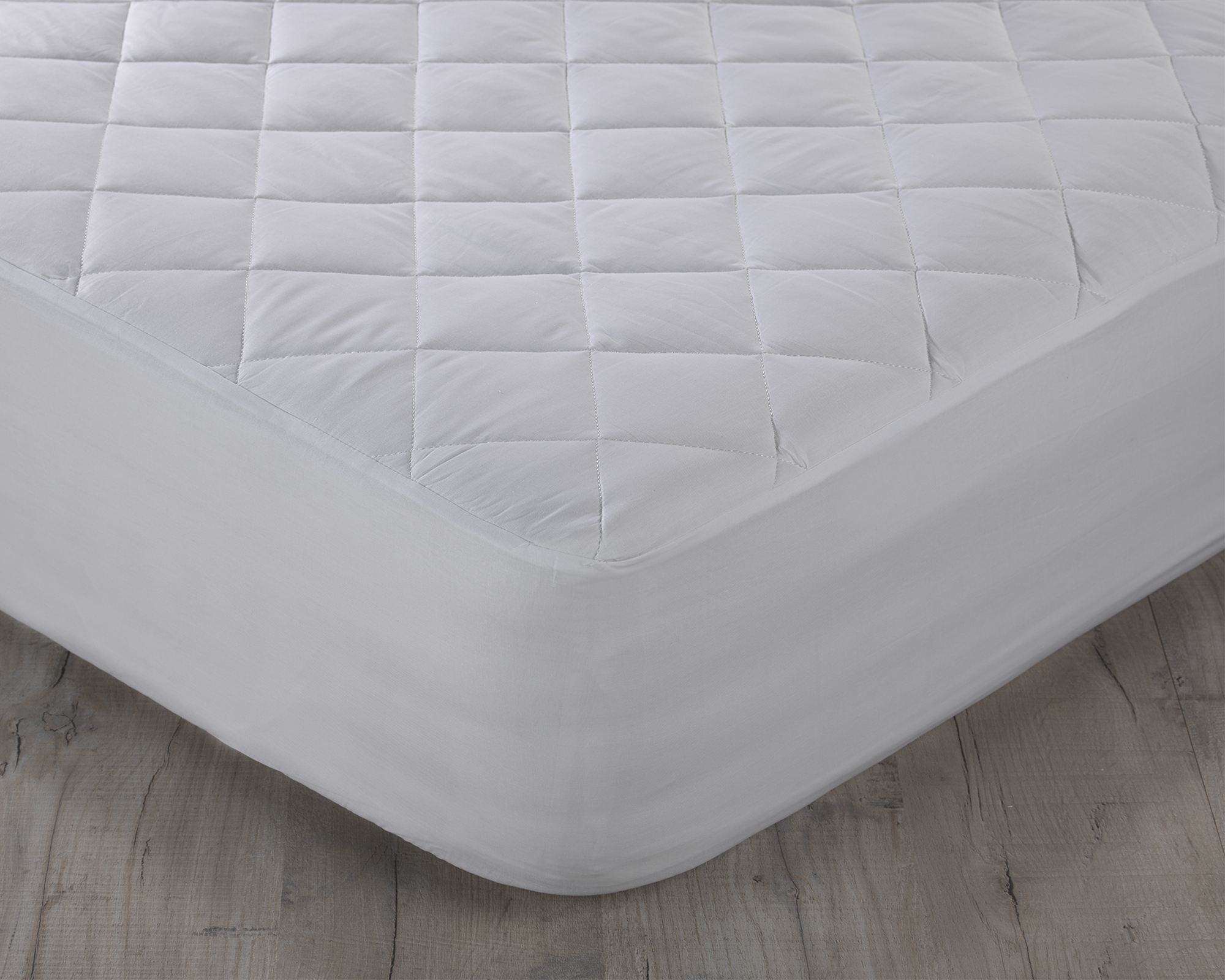 200tc Egyptian Cotton Percale Quilted Mattress Protector Luxury Cotton Bedding Direct Uk