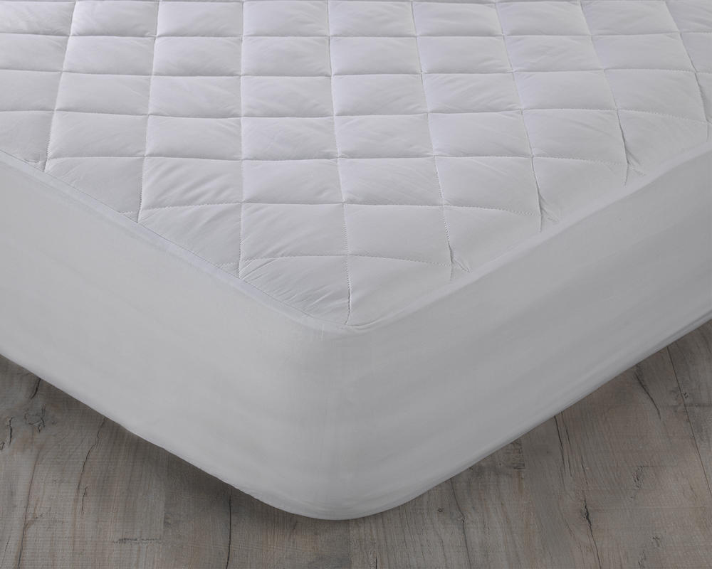 200TC Egyptian Cotton Percale Quilted Mattress Protector