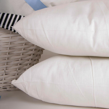 Cancelled Hotel Contract Unbleached Cotton Pillow Pair Thumbnail 1