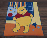 Official Disney Rug - Winnie the Pooh Spring Orange
