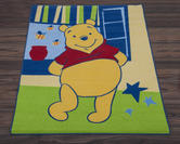 Official Disney Rug - Winnie the Pooh Spring Green