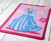 Official Disney Rug - Princess Cinderella Pink