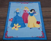Official Disney Rug - Princess Blue