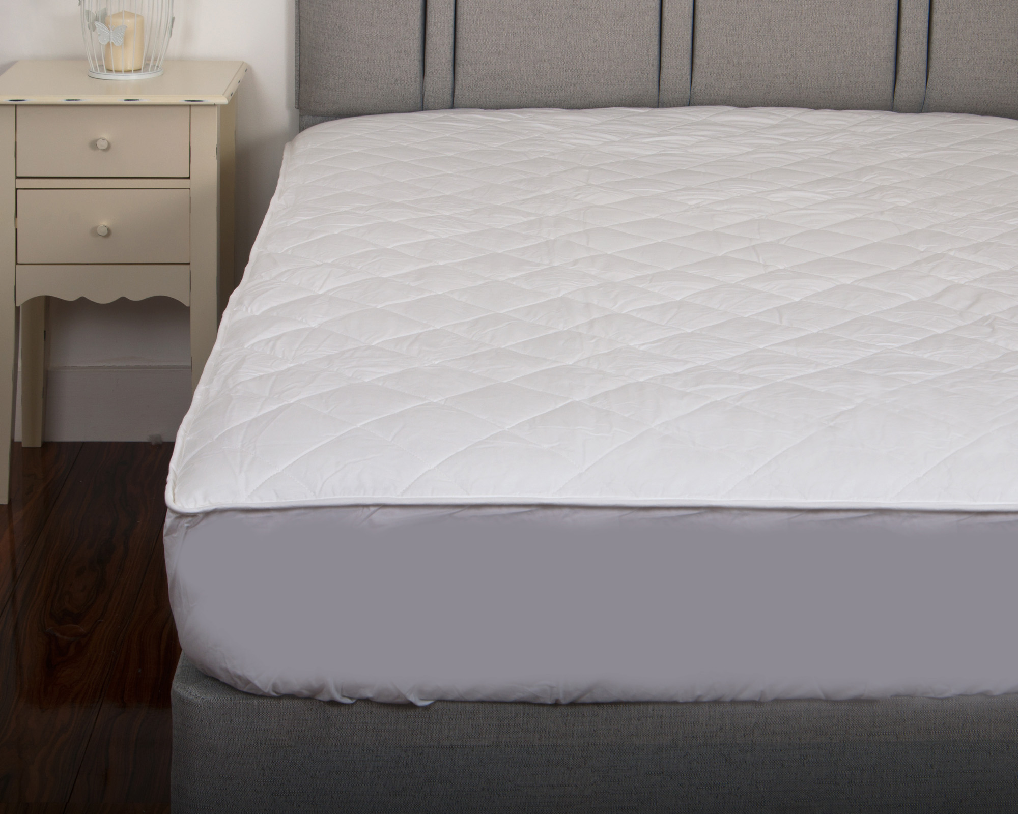 Luxury Deep Quilted 300TC 100% Cotton Percale Luxury Mattress ...