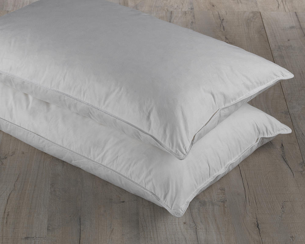 White Duck Feather Pillow Pair