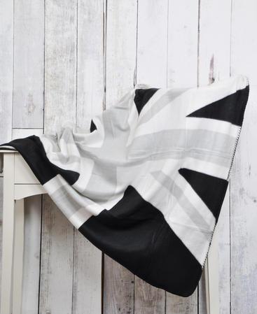 British Union Jack Flag Design Fleece Sofa Bed Picnic Throw Blanket - 3 Colours Thumbnail 5