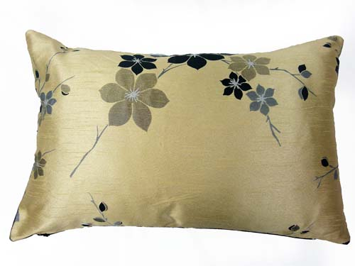 Saigon Cream/Black Boudoir 24''x15'' Cushion