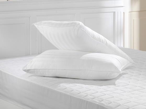 Luxury 100% Egyptian Cotton 180 Thread Count Pillows Thumbnail 1