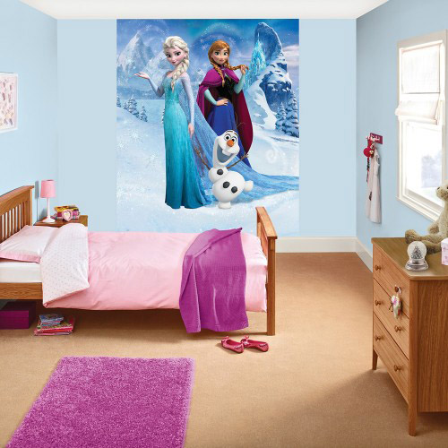 Sentinel Official Children/Kids Disney Frozen Deco Wall Mural Wallpaper Part 34