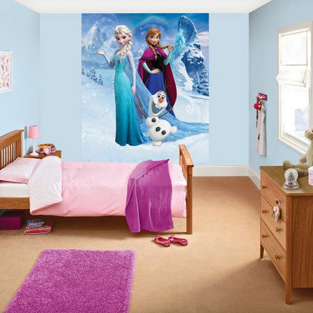 Official Disney Frozen Deco Mural Wallpaper Thumbnail 2