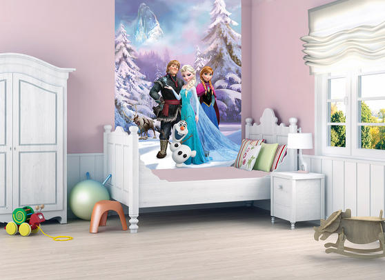 Official Disney Frozen Deco Mural Wallpaper Thumbnail 1