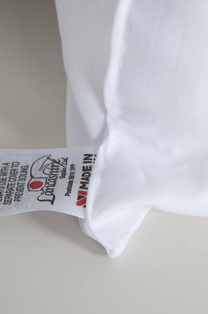 Luxury Euro Continental Square Egyptian Cotton Cover Satin Stripe Pillows; 65 x 65 cm, 80 x 80 cm Thumbnail 4