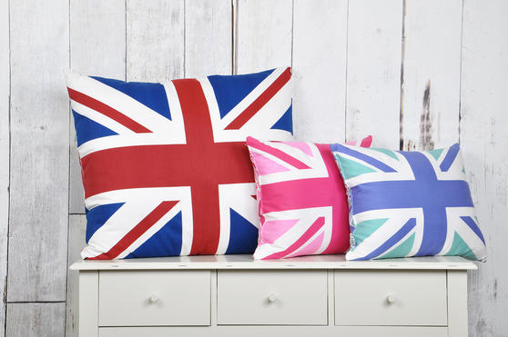 Union Jack Hollowfibre Cushions  Thumbnail 2