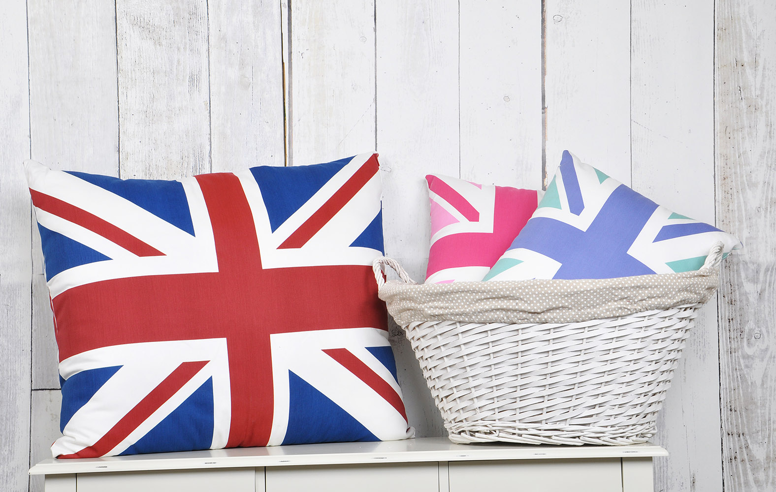 Union Jack Hollowfibre Cushions