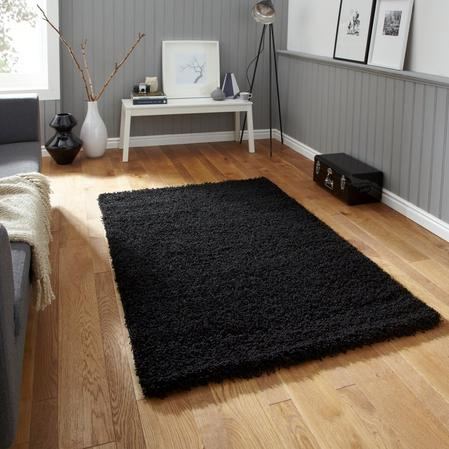 Luxury Soft to Touch Snuggle Up 120cm x 160cm Shaggy Rugs Thumbnail 1