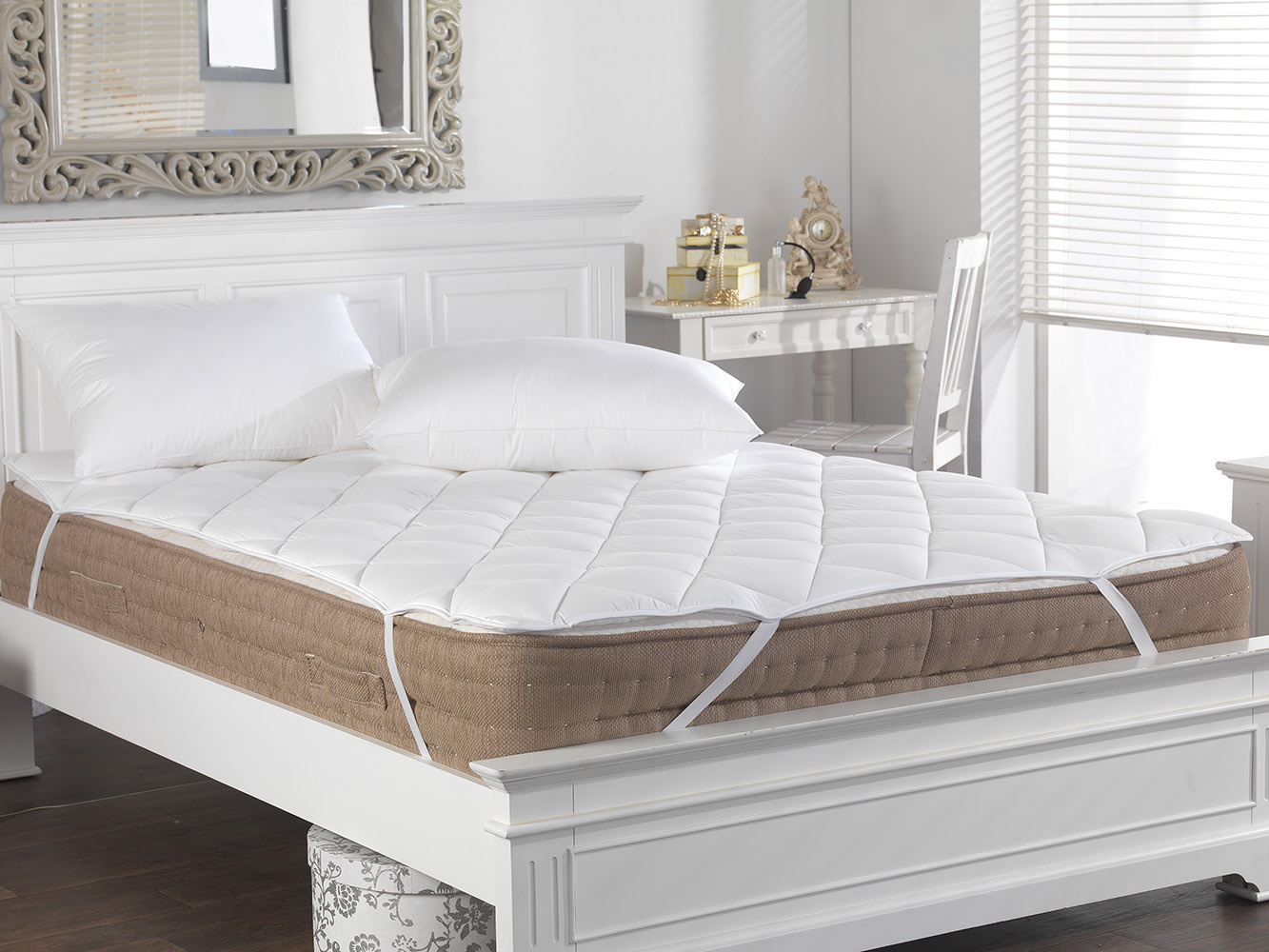 Slight Second - M&S Anti Allergenic Quilted Mattress Toppers & Protectors