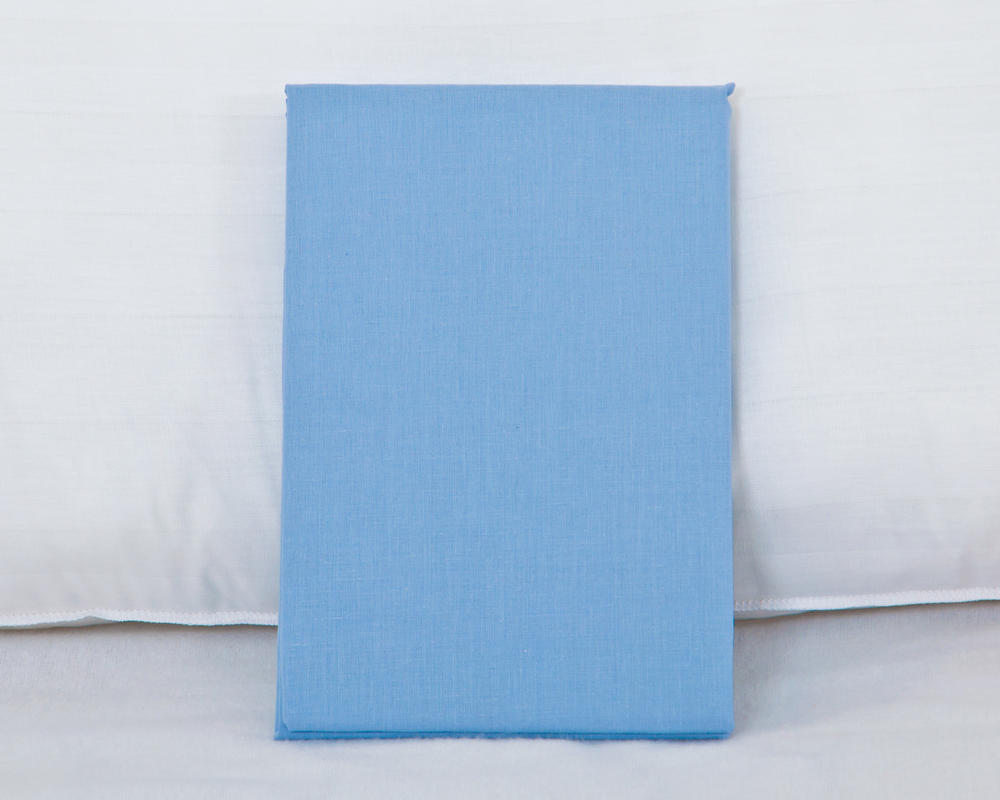 Bolster Pillowcase In Blue Bedding Direct Uk
