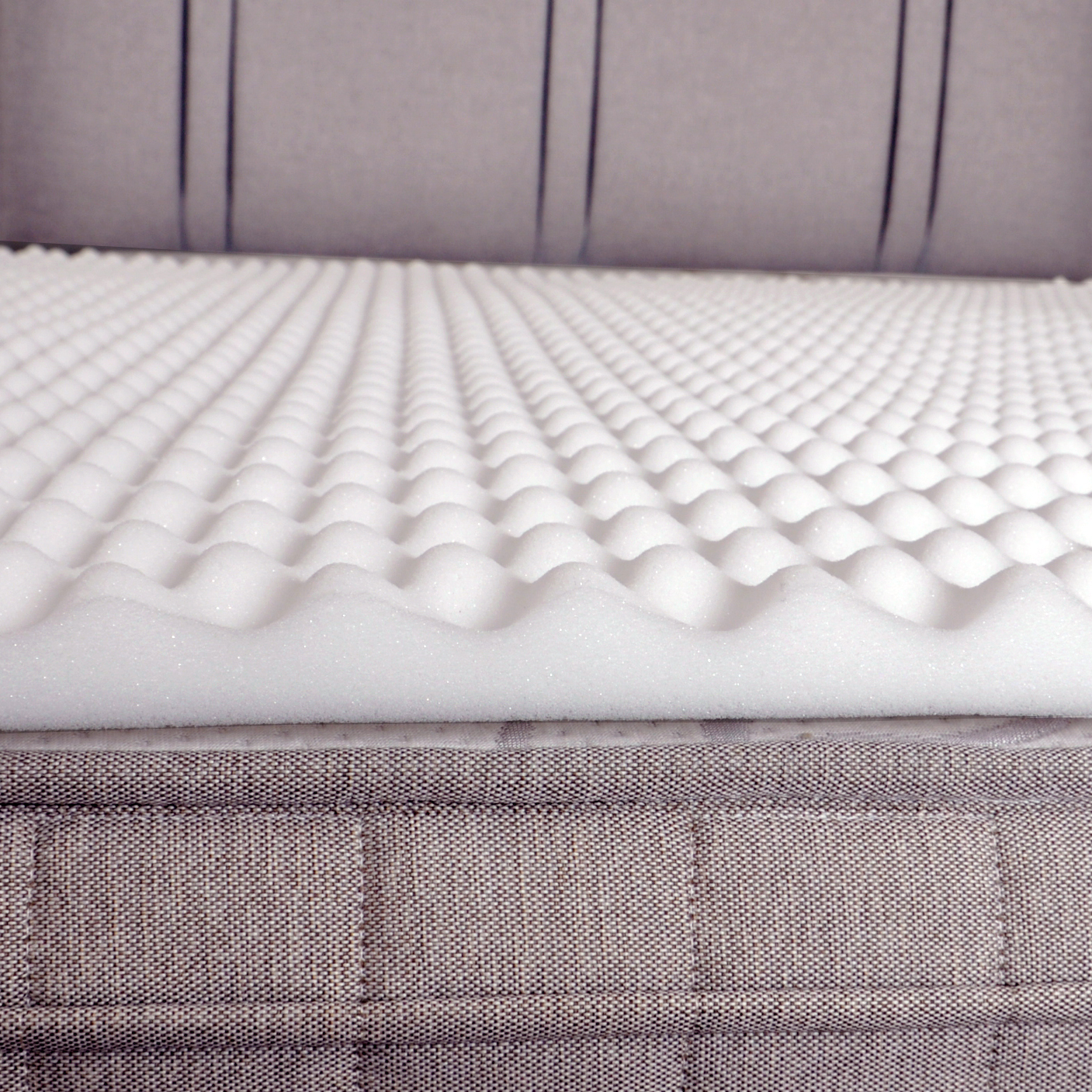 Luxury Factory Seconds Back Support Egg Box Foam Mattress