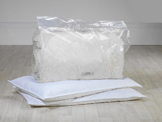 13.5 Tog - Natural Duck Feather Duvet  Thumbnail 2