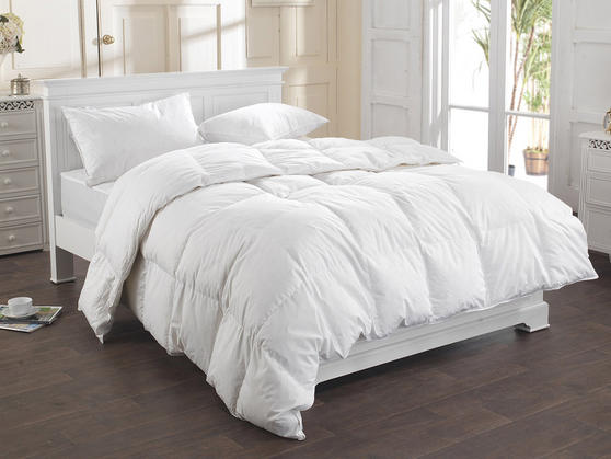 13.5 Tog - Natural Duck Feather Duvet  Thumbnail 3