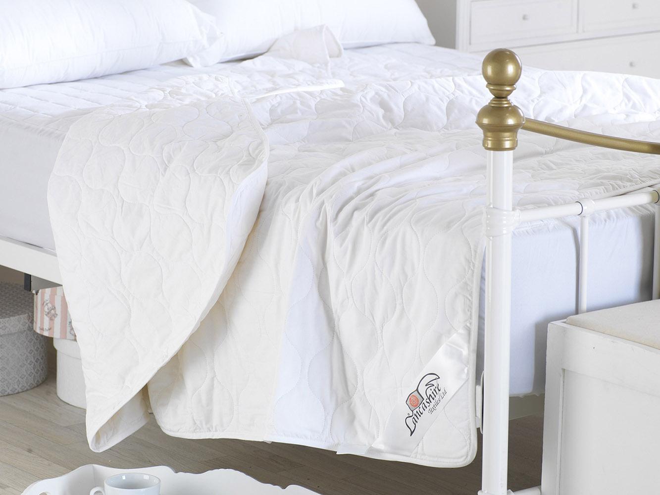1 Tog - Luxurious Natural 100% Pure Cotton Anti Allergy Duvet ...