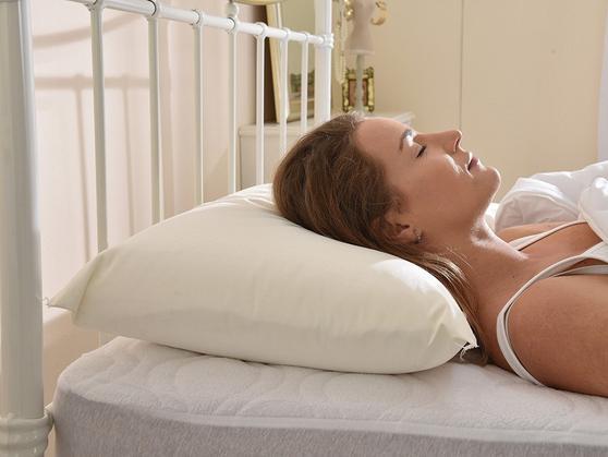 Slight Second - Luxury 100% Memory Foam Orthopedic Super Firm Pillow Thumbnail 3