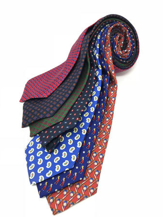 Cavenagh of London 7Piece 100% Pure Silk Ties Made in UK (516D)RRP£139.99
